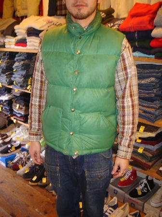 THE NORTH FACE DOWN VEST_c0146178_1555543.jpg