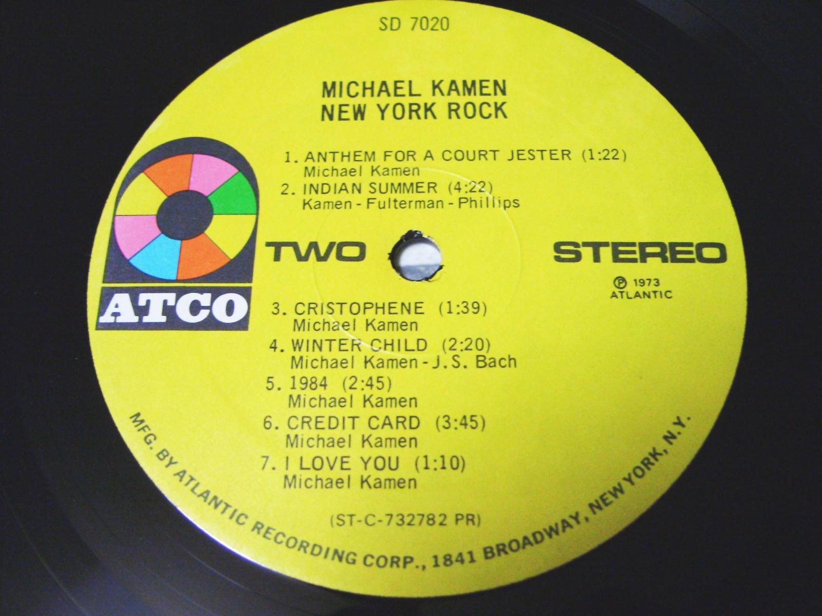 MICHAEL KAMEN / NEW YORK ROCK _c0062649_235823100.jpg
