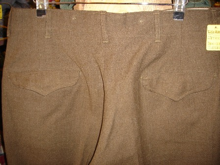 1947's MILITARY PANTS。_c0146178_14222716.jpg