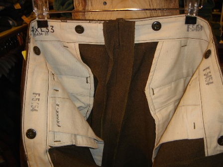 1947's MILITARY PANTS。_c0146178_14252629.jpg