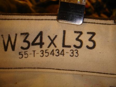 1947's MILITARY PANTS。_c0146178_14264065.jpg