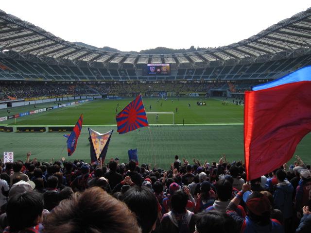 サッカー天皇杯準決勝 FC東京-柏レイソル_b0042308_0445080.jpg
