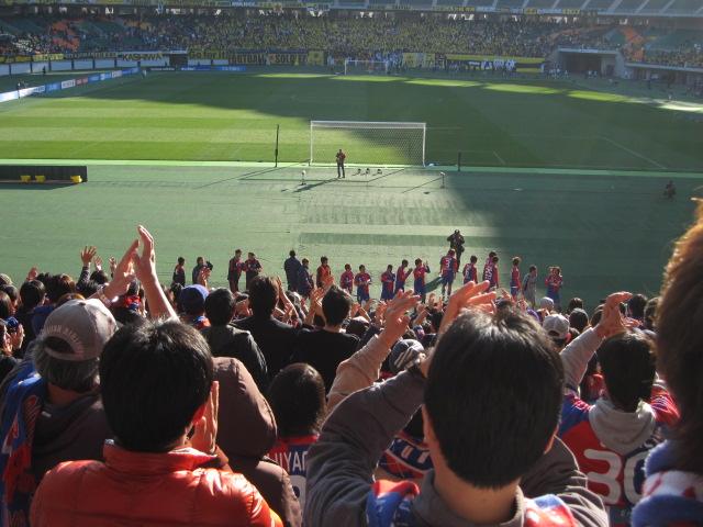 サッカー天皇杯準決勝 FC東京-柏レイソル_b0042308_1319.jpg