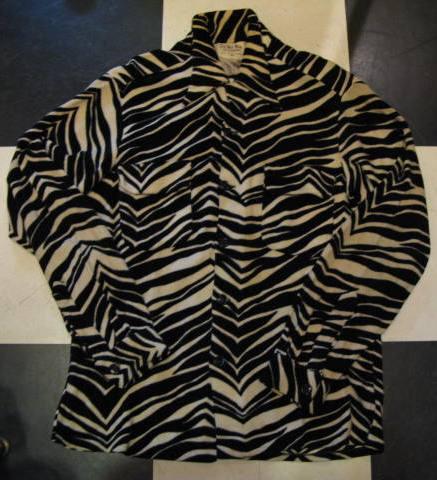 1月2日入荷!50\'S DELMAR Zebra 柄 シャツ!_c0144020_13434365.jpg