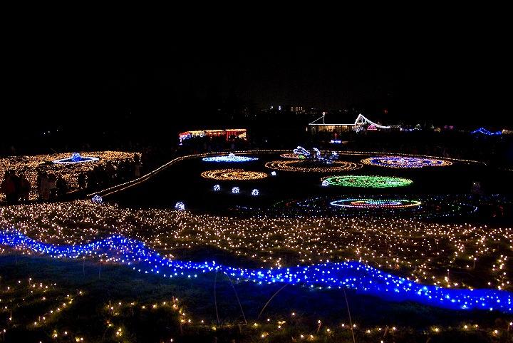 昭和記念公園のウインタービスタイルミネーション2_e0000746_23372734.jpg
