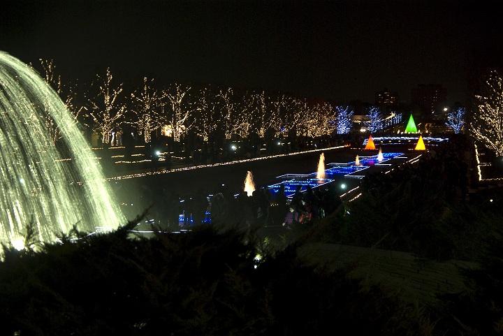 昭和記念公園のウインタービスタイルミネーション2_e0000746_23374397.jpg