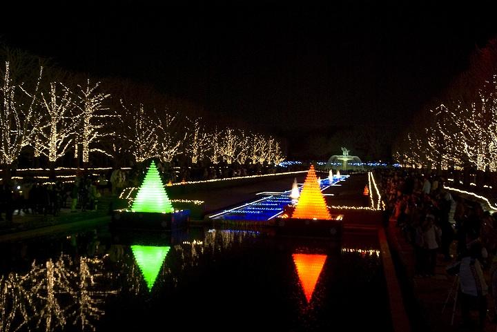 昭和記念公園のウインタービスタイルミネーション2_e0000746_23382632.jpg