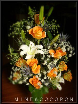 花にかこまれて~♪_a0053987_231758100.jpg