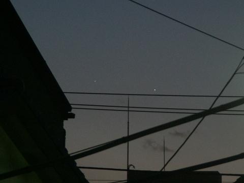 1月6日の水星と木星_e0089232_1717298.jpg