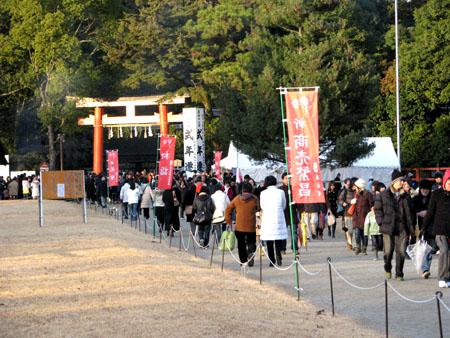 初詣 上賀茂神社_e0048413_0133567.jpg