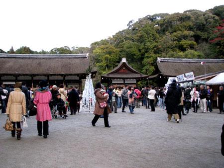 初詣 上賀茂神社_e0048413_0135014.jpg