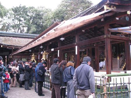 初詣 上賀茂神社_e0048413_0144828.jpg