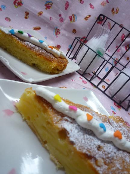 2種類のりんごケーキ♪_f0193555_10373770.jpg