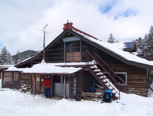 恒例正月登山1 南八ヶ岳-赤獄神社初詣_c0177814_13354011.jpg