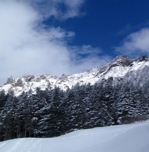 恒例正月登山1 南八ヶ岳-赤獄神社初詣_c0177814_13412337.jpg