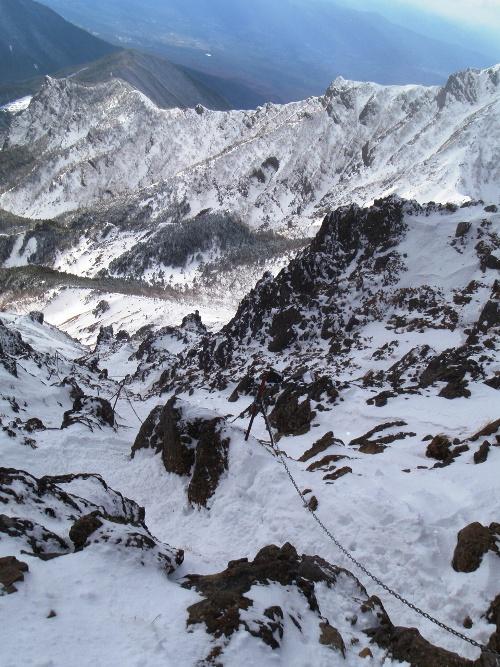 恒例正月登山1 南八ヶ岳-赤獄神社初詣_c0177814_13511798.jpg