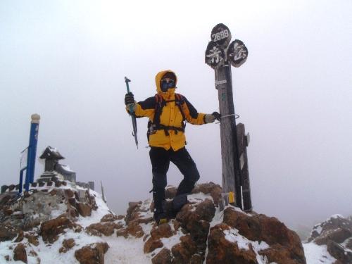 恒例正月登山1 南八ヶ岳-赤獄神社初詣_c0177814_13542489.jpg