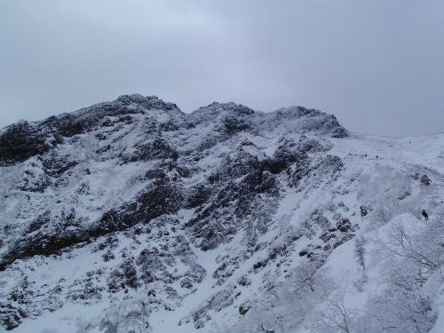 恒例正月登山1 南八ヶ岳-赤獄神社初詣_c0177814_1418340.jpg