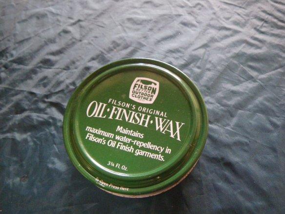 FILSON\'S Oil Finish Wax / 防水ワックス_e0024555_20144781.jpg