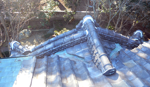 2009 お正月 屋根修理_f0060424_17453281.jpg