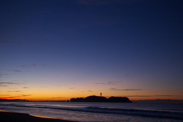 湘南海岸での一日 (夜明け前)_c0167028_1275842.jpg