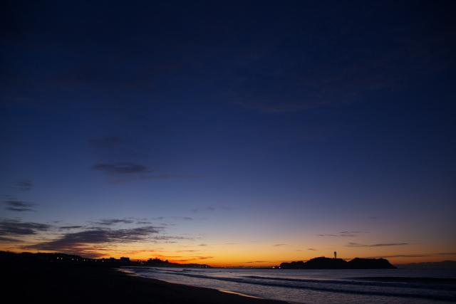 湘南海岸での一日 (夜明け前)_c0167028_1293197.jpg