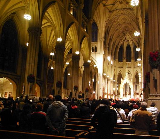 セント・パトリック大聖堂で初詣_b0007805_1143689.jpg