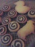 うず巻きクッキーと型抜きクッキー_d0145857_20532225.jpg