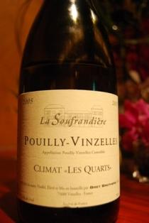 Pouilly Vinzelles Climat <Les Quarts>2005_e0025817_2121152.jpg