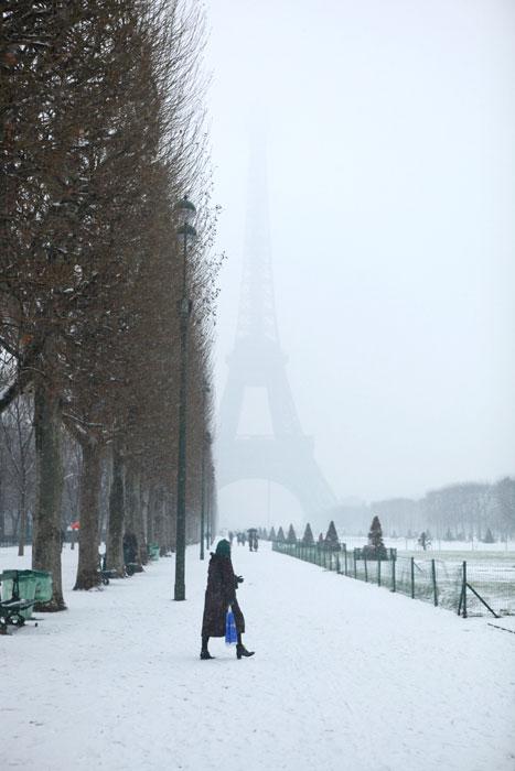 2009/01/06 パリに雪が降りました。_f0034922_2334123.jpg