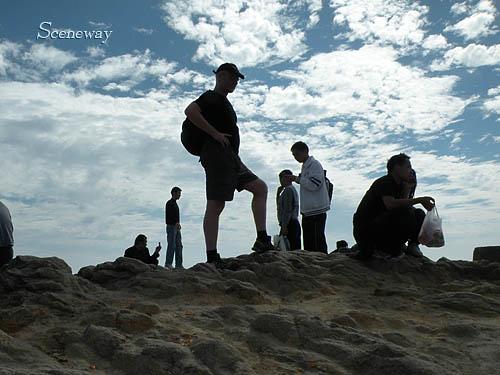 深セン 2009年初登山(梧桐山)と写真_b0075737_2323135.jpg