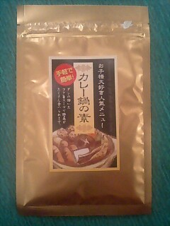 カレー鍋よ! 素+カレー鍋_c0033210_1041259.jpg