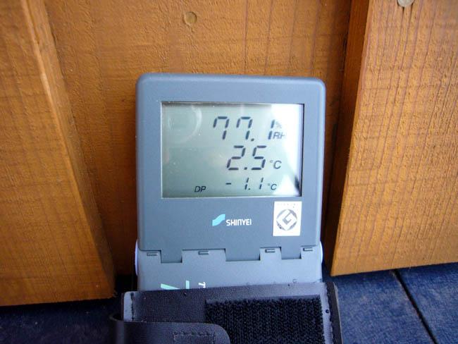 下瀬の家、留守の内部温度_f0150893_1512227.jpg