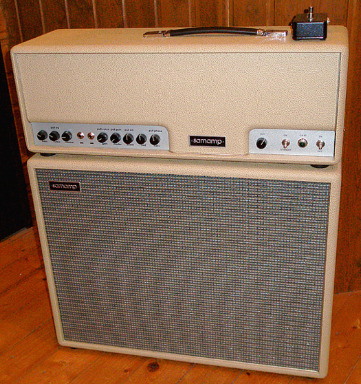 British Tan色の「samamp CA 40 & Cabinets」が初入荷!_e0053731_18264860.jpg
