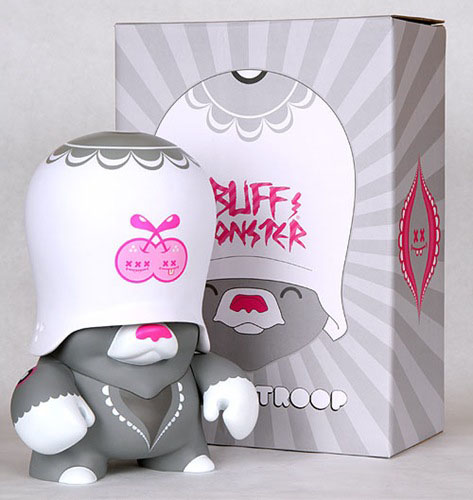 Grey Teddy Troop by Buff Monster_e0118156_17262711.jpg