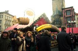 プラハのクリスマスマーケット_c0182100_4325960.jpg