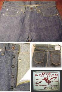 始動!オリジナルジーンズ BULL RIDER再販!_a0098324_19584420.jpg