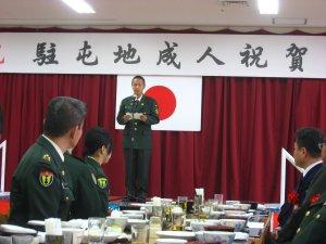 北熊本駐屯地成人式_e0153570_8281975.jpg