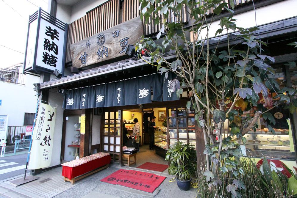 芋納糖・花いんげん・焼き豆腐  2009お正月・川越その3 _a0107574_23444997.jpg