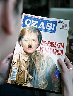アンゲラ・メルケルはヒトラーの娘か? by David Meyer_c0139575_1457647.jpg