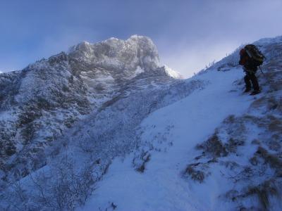 冬の集中山行_b0133032_21263596.jpg