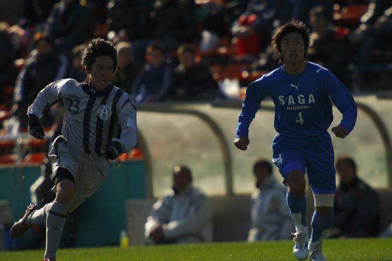 高校サッカー選手権大会 佐賀東vs東海学園_f0095163_23215851.jpg