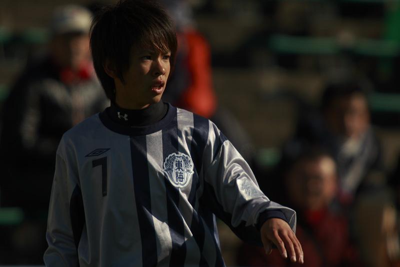 高校サッカー選手権大会 佐賀東vs東海学園_f0095163_23224130.jpg