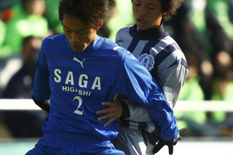高校サッカー選手権大会 佐賀東vs東海学園_f0095163_2323224.jpg