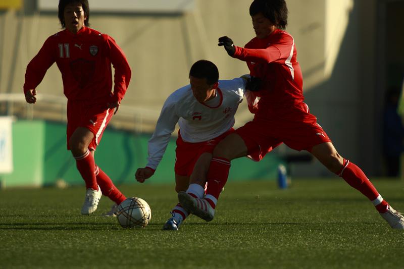 高校サッカー選手権大会 那覇西vs秋田商_f0095163_23392829.jpg