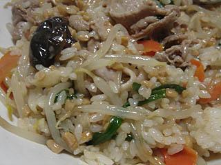 肉野菜納豆チャーハン_c0025217_11522179.jpg