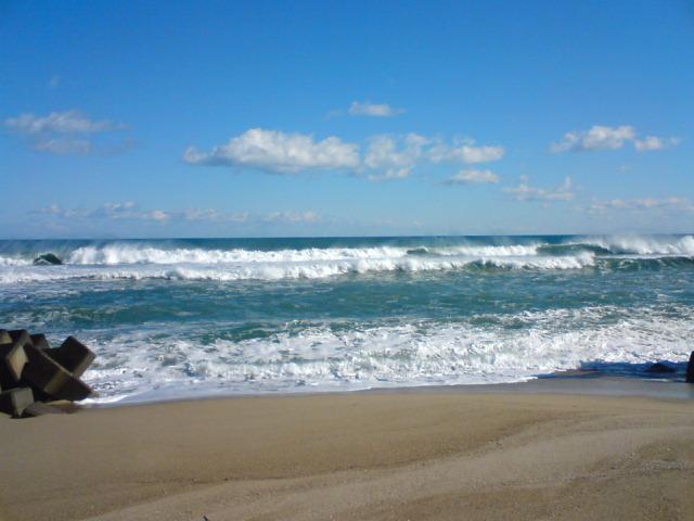 海よぉ~俺の海ぃ~よぉ~♪/なつおさんの心地いい場所♪_f0096569_0394828.jpg