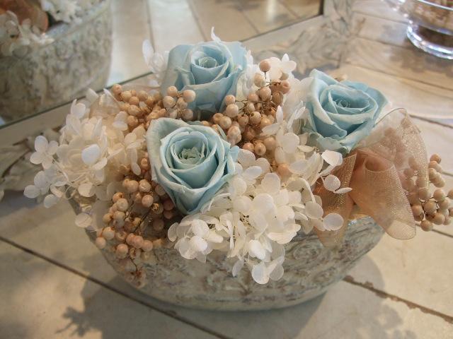 オークリーフ花の教室(山田さんの作品)_f0049672_17464228.jpg