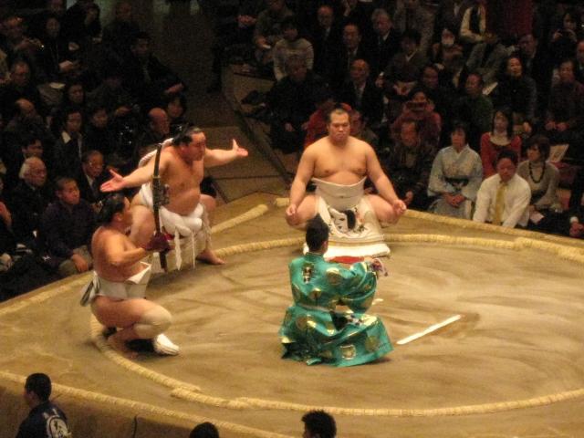 Blog復活^^ & 初☆相撲観戦_d0113725_17321570.jpg