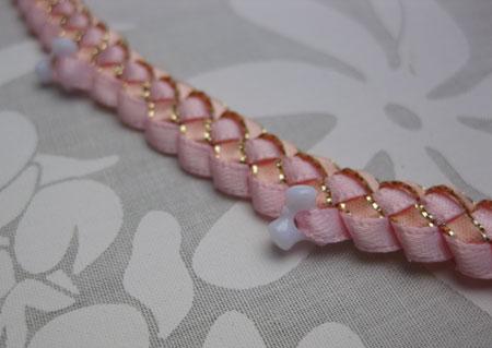 braid w/beads Pink トライビーズ入りブレイド ピンク_c0196240_1630248.jpg